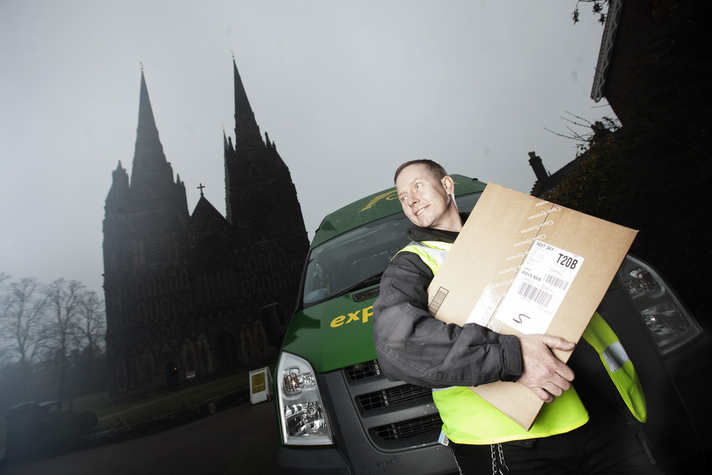 City Link deliveries, Midlands
