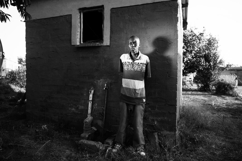 HIV AIDS Reportage photography South Africa