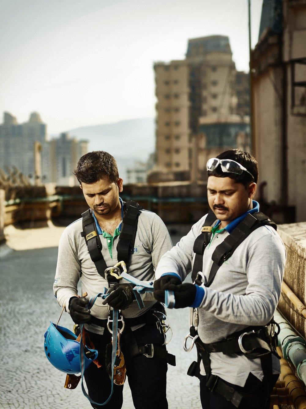 Rentokil India Annual Report Photo Shoot by Matthew Lloyd