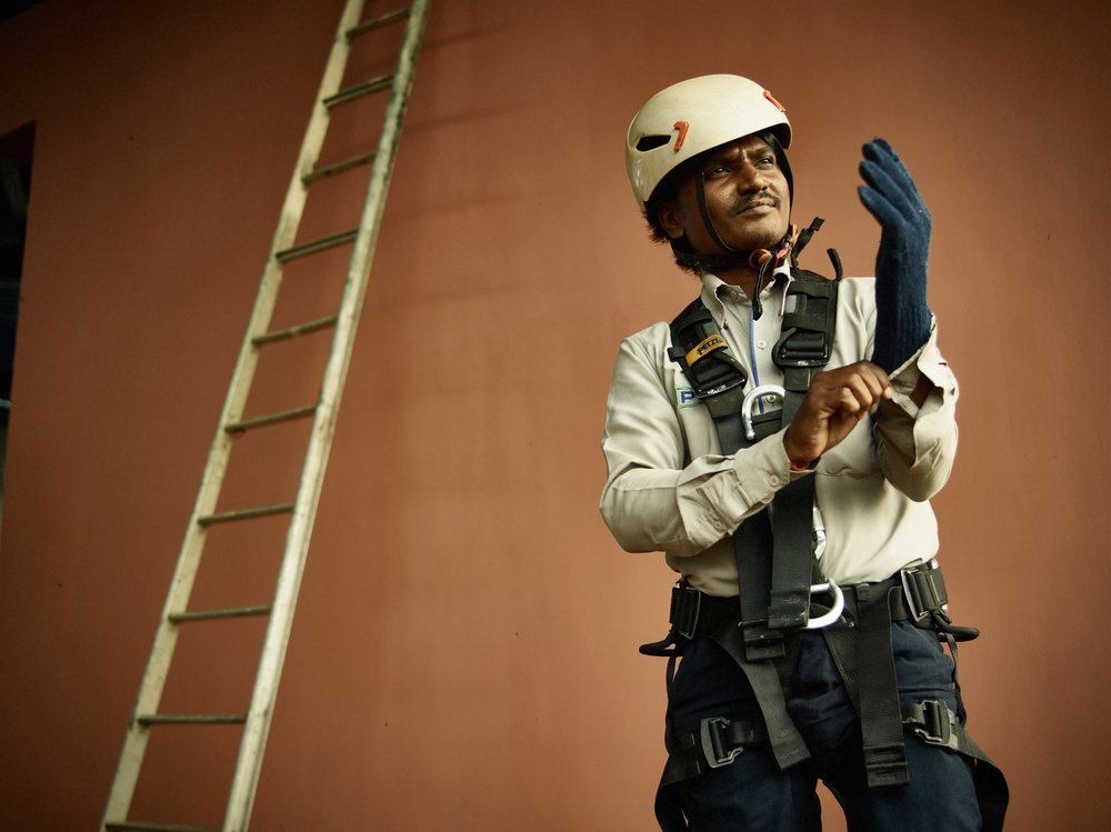 Rentokil India Portraits - Workplace Photography