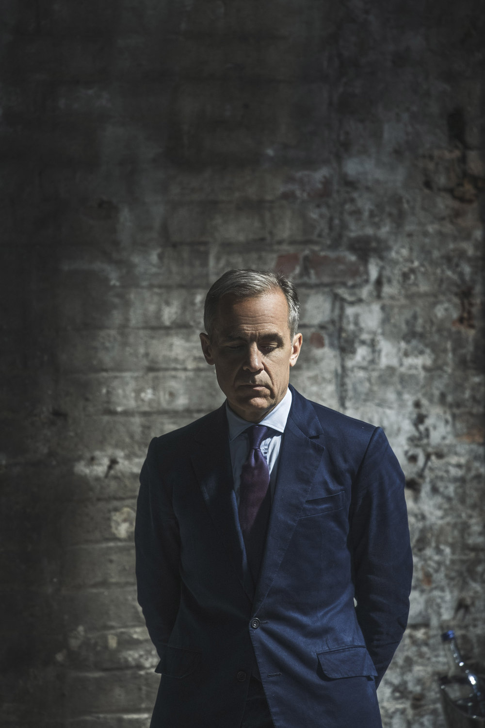 portrait of mark carney in newcastle by portrait and reportage young photographer matthew lloyd yorkshire.jpg