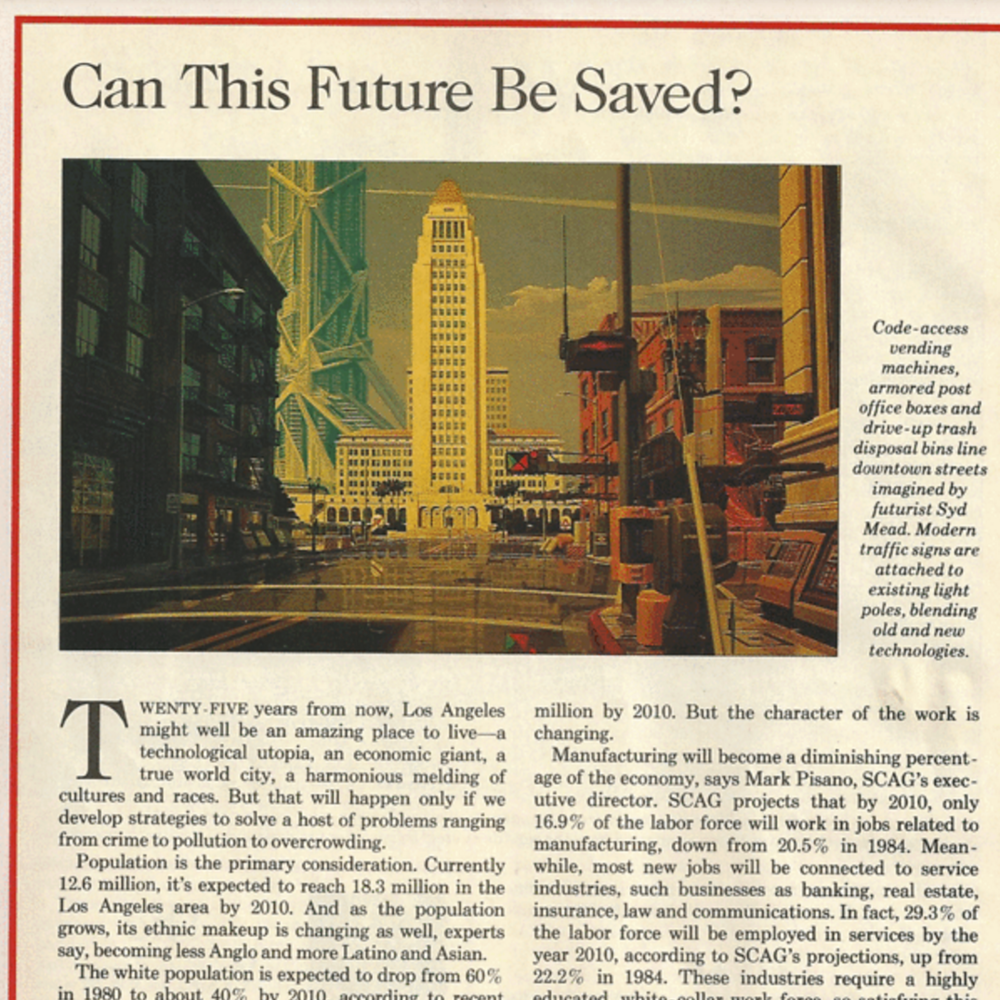 In 1988, LA Times Magazine ran a cover story on the world in 2013 complete with self-driving cars and robots for essentially everything. ARGO still believes in the broad contours of that bright future and works to accelerate its adoption by modernizing our most basic public institution: government.