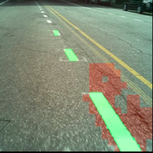ARGO's computer vision techniques can be used to detect and identify the quality of pavement markings in a city. This can help cities better allocate maintenance resources and get ready for Autonomous vehicles