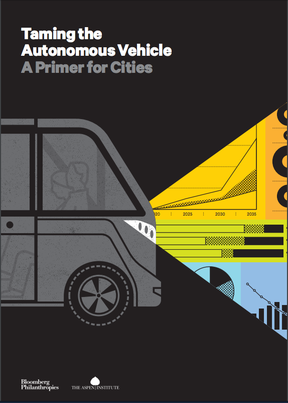 ARGOnaut, Varun Adibhatla assisted with research into a horizon scan document for the Bloomberg/Aspen Initiative on Cities and Autonomous vehicles .