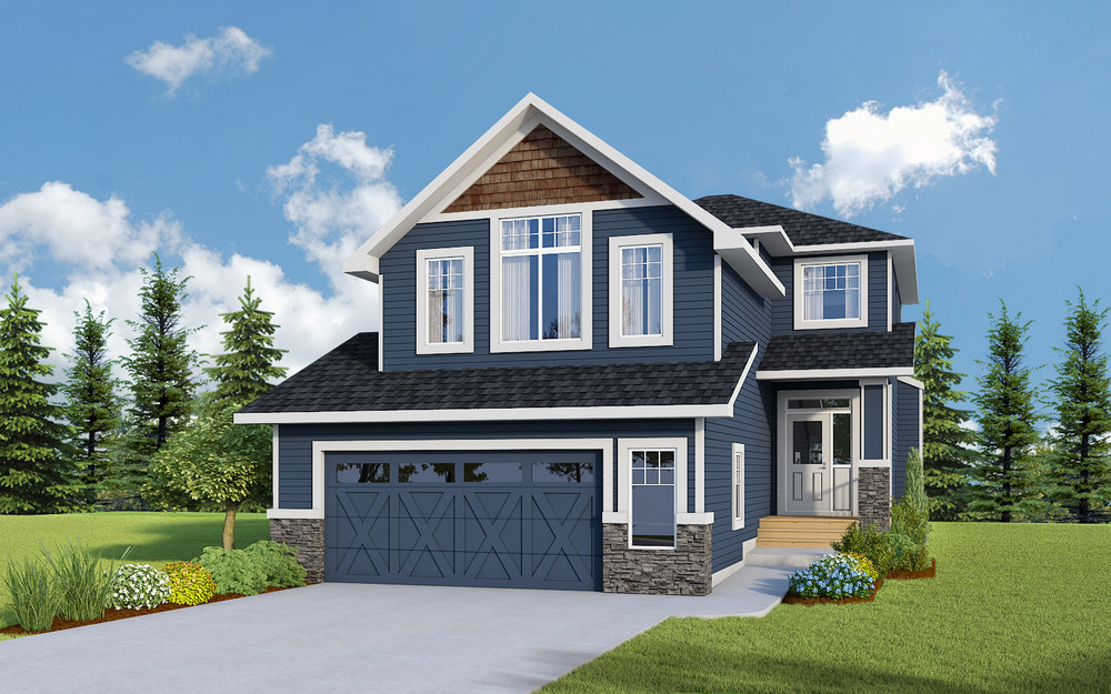 Aspen II - FRONT ATTACHEDStarting from the $540's Incl. GSTSquare Feet: 2162Details & Addresses