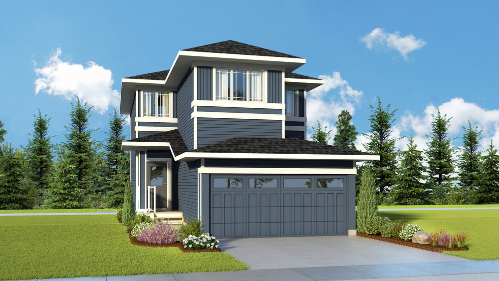 Redwood - front attachedStarting from the $460's Incl. GSTSquare Feet: 1661Details & Addresses