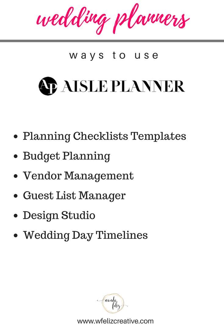 Aisle Planner And Dubsado Perfect Match For Wedding Planners