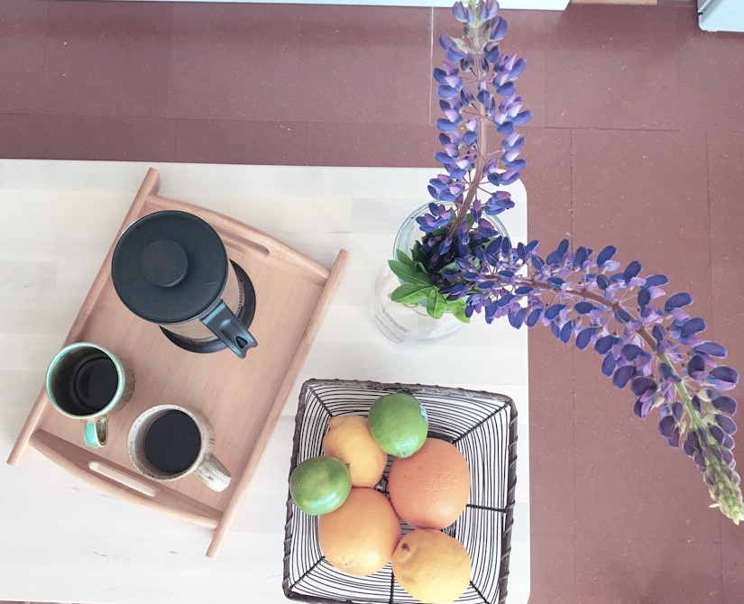 Guests at The Hideout are retreated to organic local coffee and a selection of curated treats.