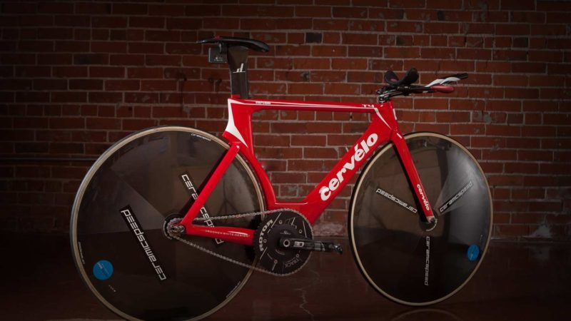 The UCI Hour Record Cervelo T4  - September 18, 2017By Andres Douzoglou