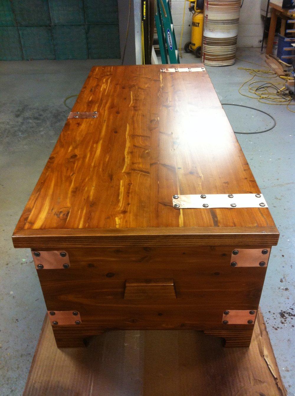 AFTER - Vintage cedar chest