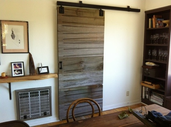 CUSTOM - Reclaimed wood barn door