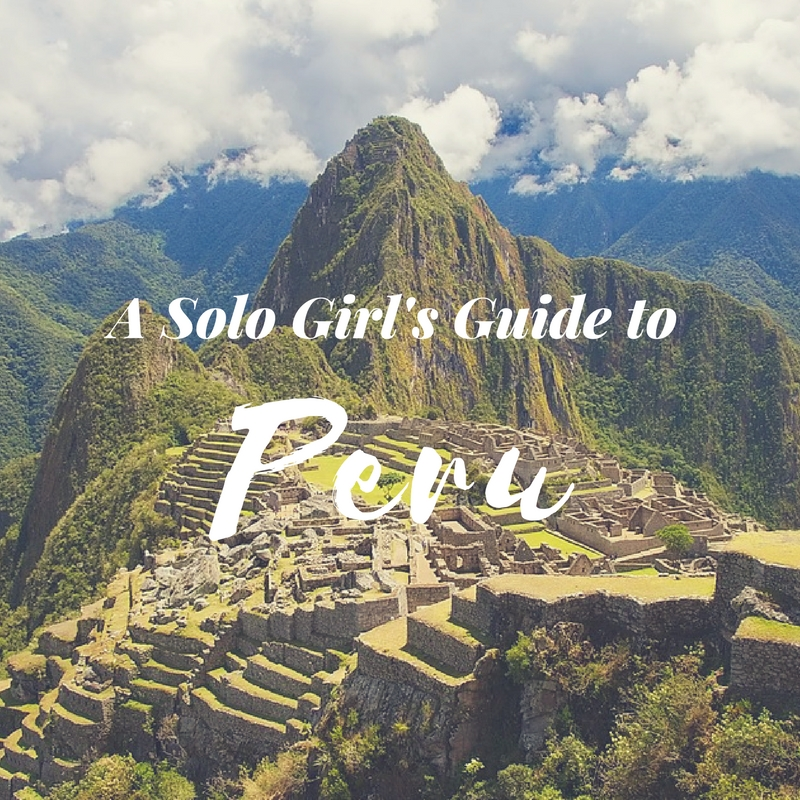 A graphic created for a travel itinerary trip to Peru for my travel & tourism course.