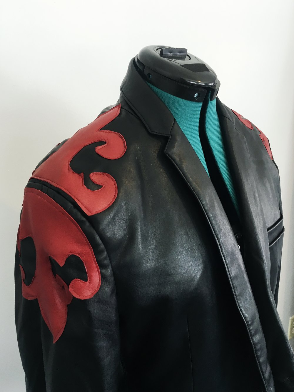 zara red leather jacket.JPG