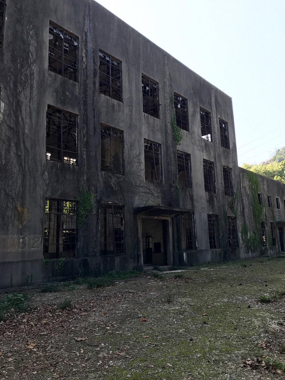 An abandoned poison gas factory on Okunoshima.