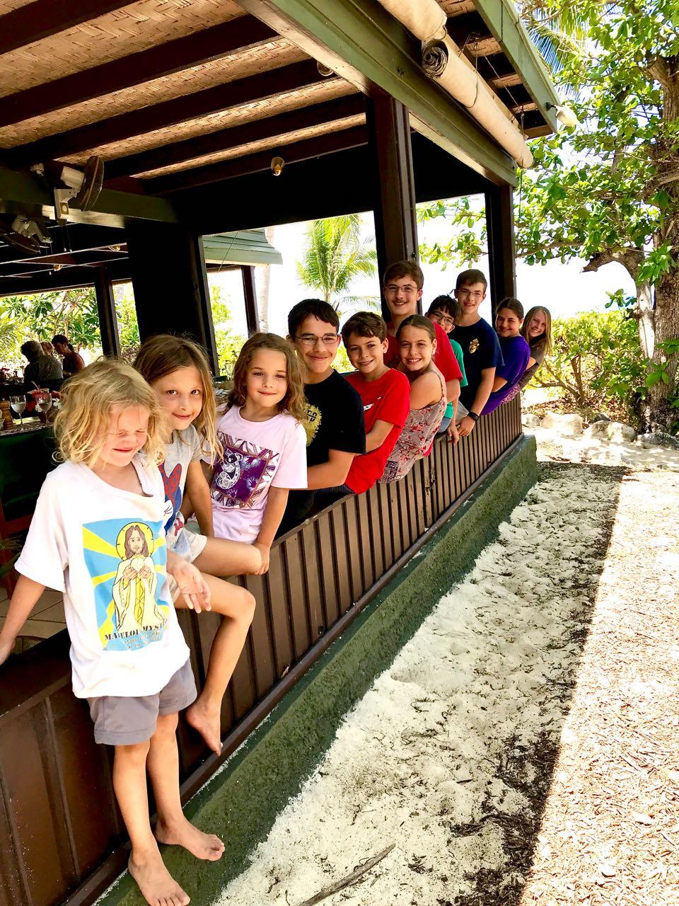 All the island kids!