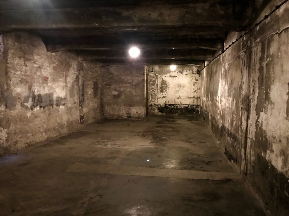 Gas chamber at Auschwitz