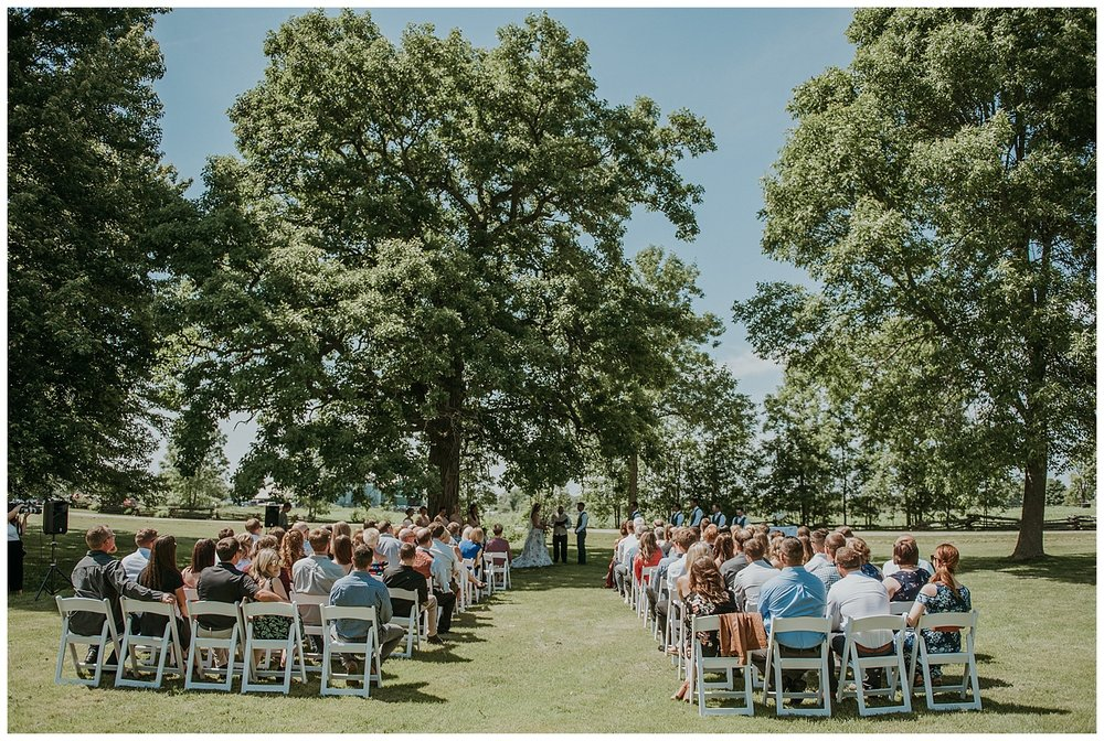 Front Yard Ceremony in Trenton, Ontario | Holly McMurter Photographs