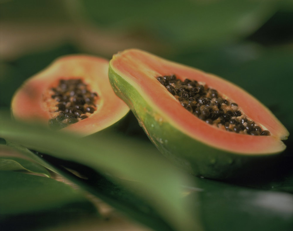 Papaya Rich in Papain  - Papain is an effective digestive and systemic enzyme, which can help reduce pain and inflammation.