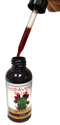 One measured dosage of Nopavera Plus shown here.