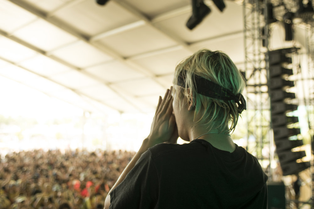 From Elephante's set at Hangout Music Festival