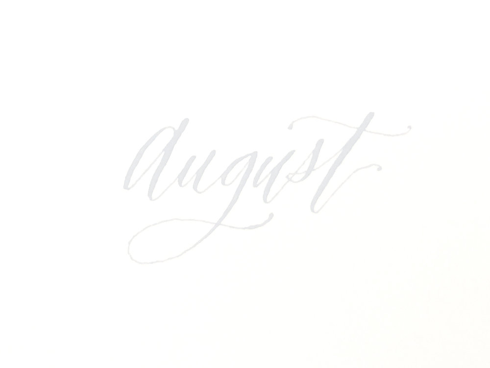 full time artist in August