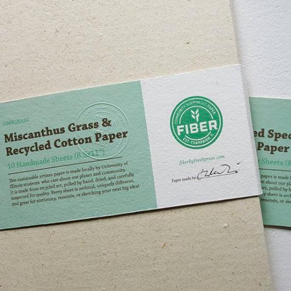 2017 FallPaper Pack Share - 10 sheets of handmade sustainable agri-fiber paper.