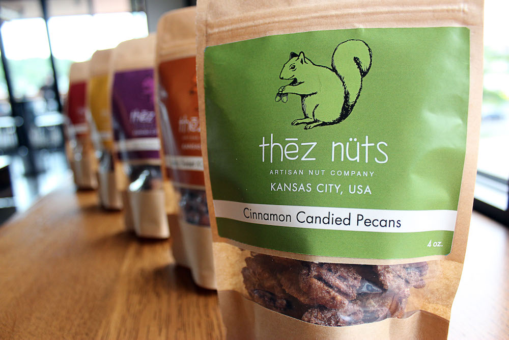 Thēz nüts - Artisan Nut Company   photo credit//  @theznuts   SHAWNEE, KANSAS