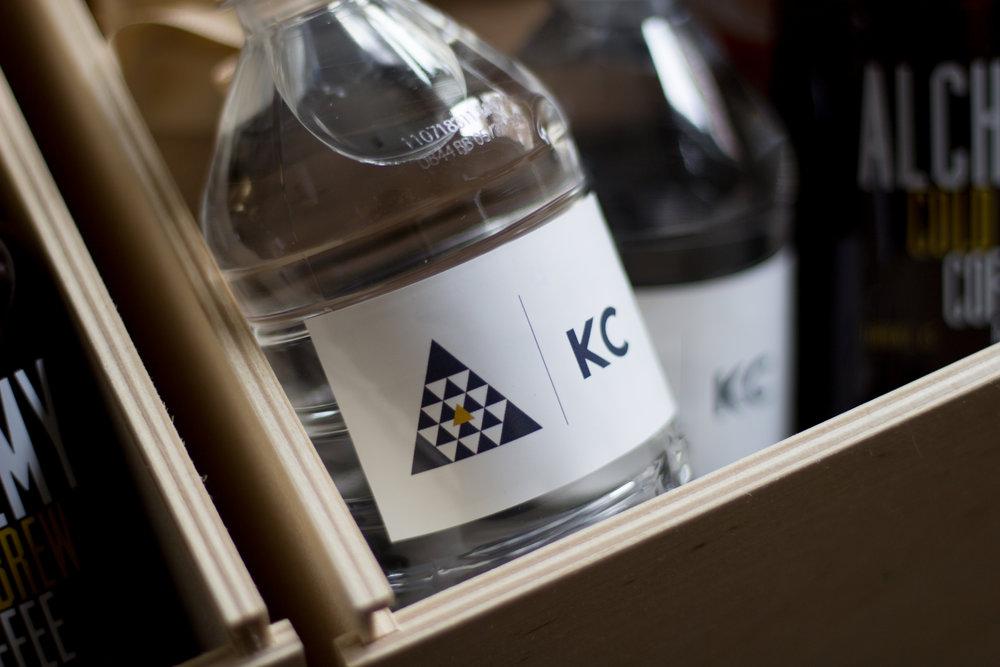 water bottle branding $1.00+