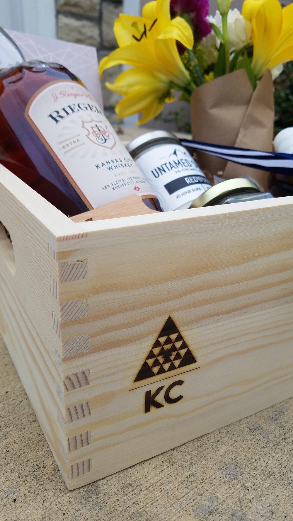 wooden branding - $300