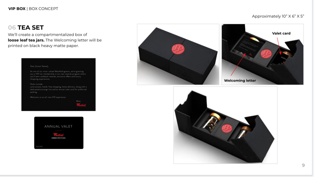 High Quality Matte Cardboard Box - Black