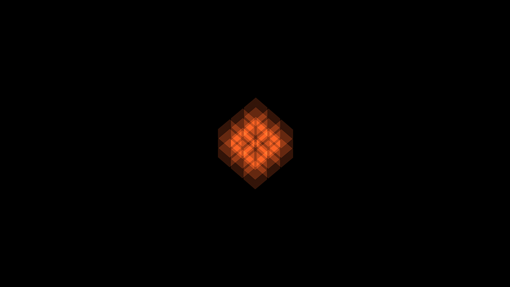 The logo for Tyrant.  This is actually a render of the Cube turned sideways.  We were a big fan of the aesthetic it gave the game, and started using it as our logo.