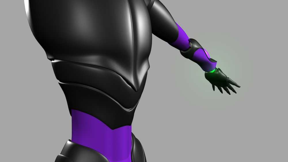 Android Torso Render