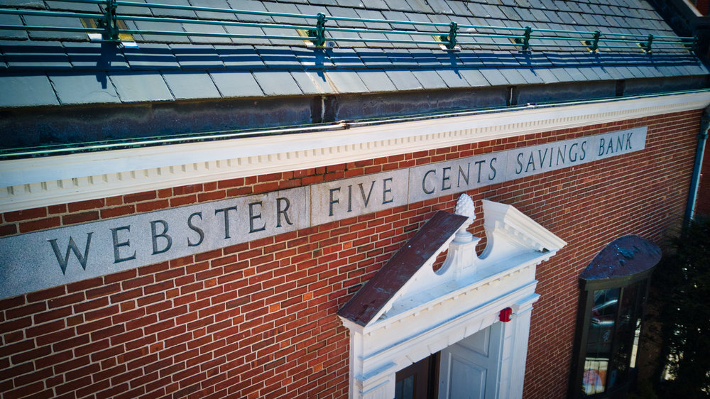 Historic Webster 5 Cents Savings Bank Building