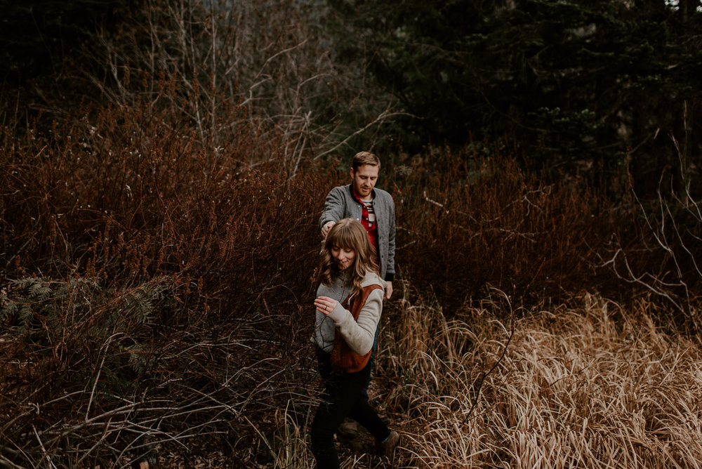 Alex and JD's Adventurous Mount Hood Couples Session | Oregon Wedding Photographer