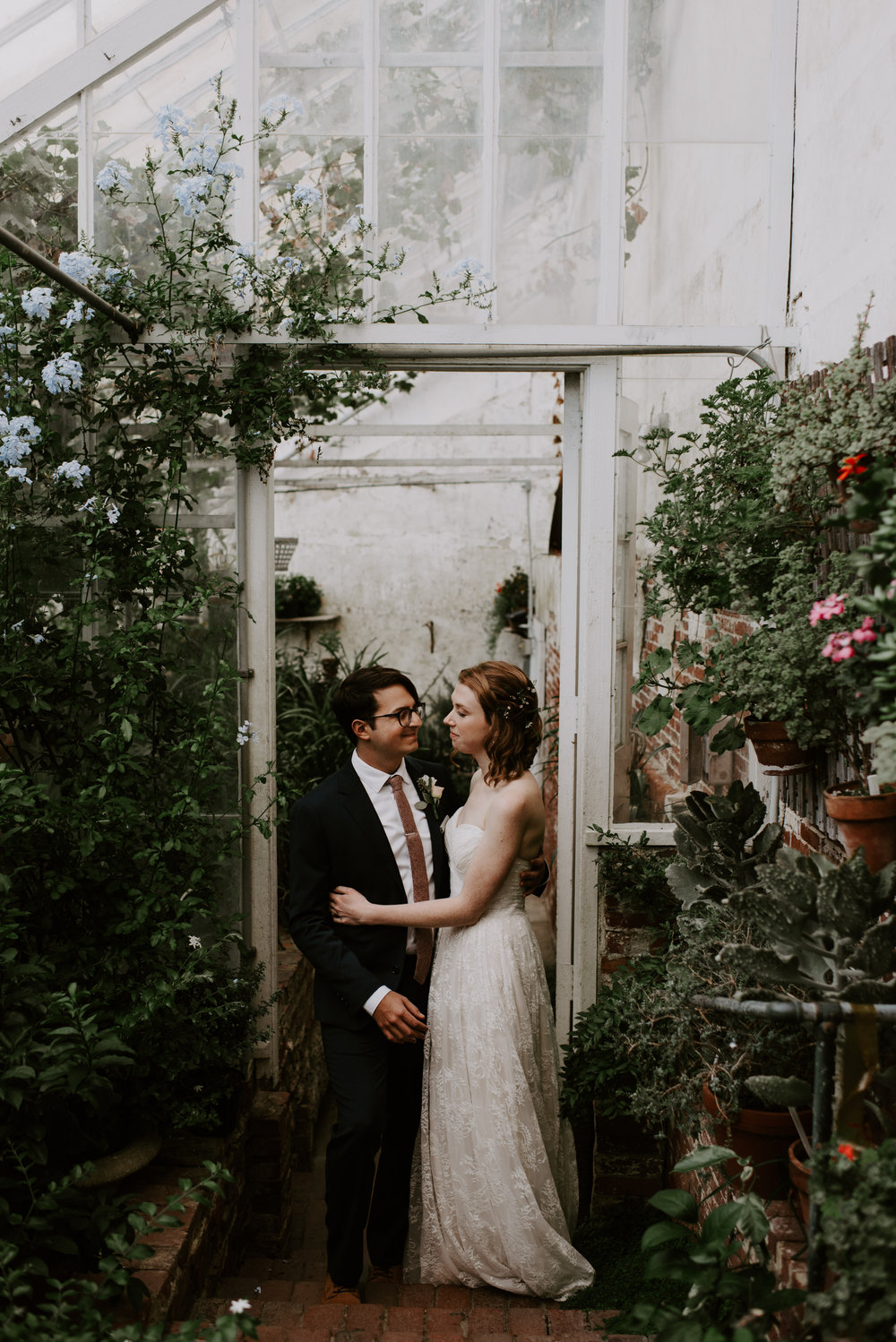 Theresa and Kyle's Romantic Green House Wedding At The Lyman Estate | Boston Wedding Photographer | Madeline Rose Photography Co.