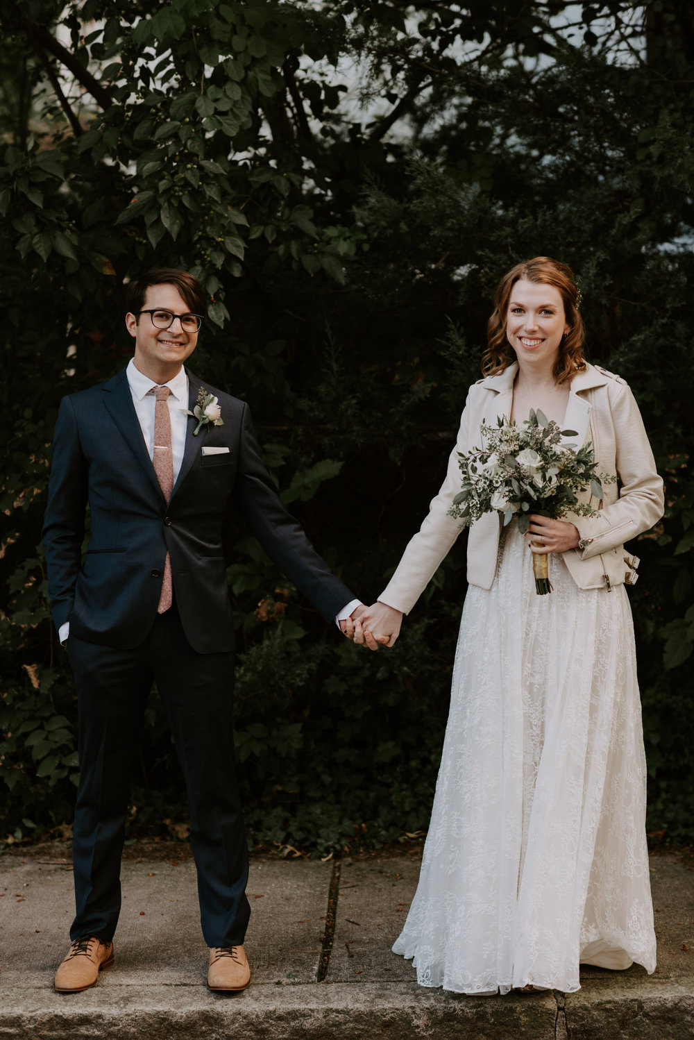 Theresa and Kyle's Romantic Greenhouse Wedding At The Lyman Estate | Boston Wedding Photographer | Madeline Rose Photography Co.