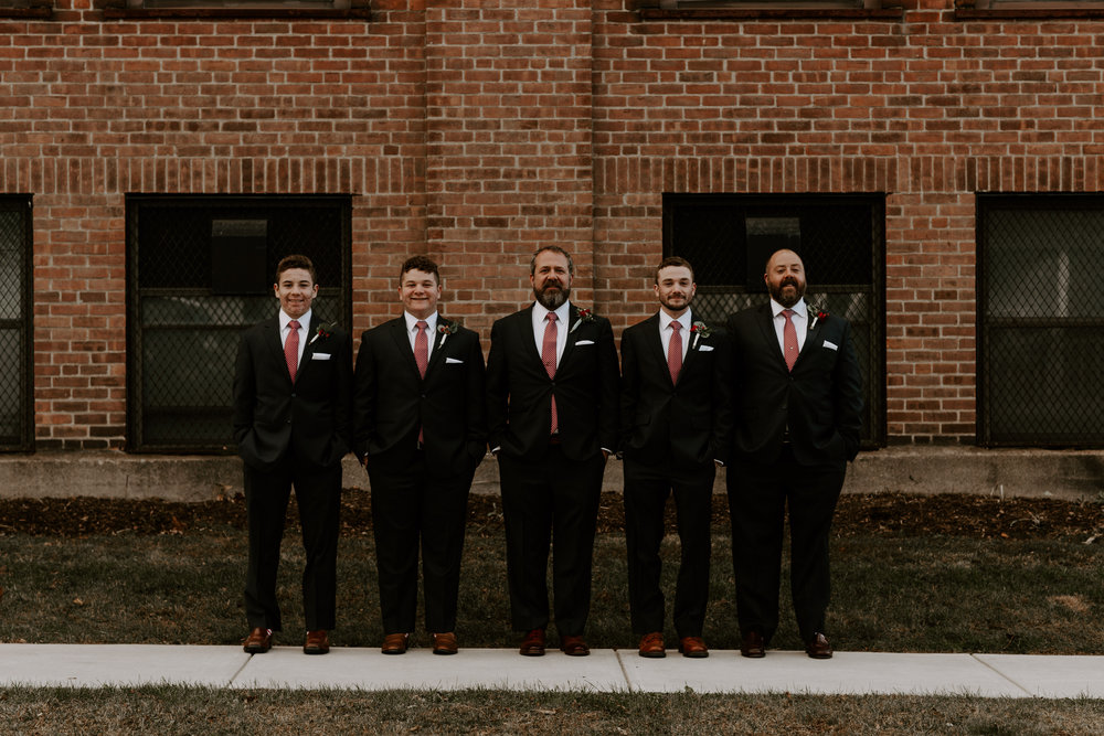 Suzanne and Scott's Industrial Stationary Factory Wedding | Berkshires Wedding Photographer | Madeline Rose Photography Co.