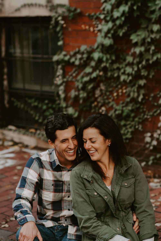 Beacon Hill, Boston Fall Engagement Session | Boston Wedding Photography