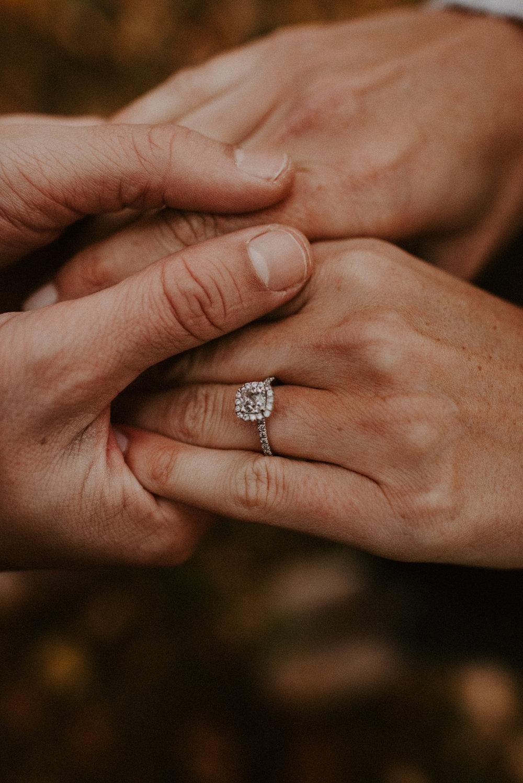New England Fall Foliage Engagement Session | Boston Wedding Photography