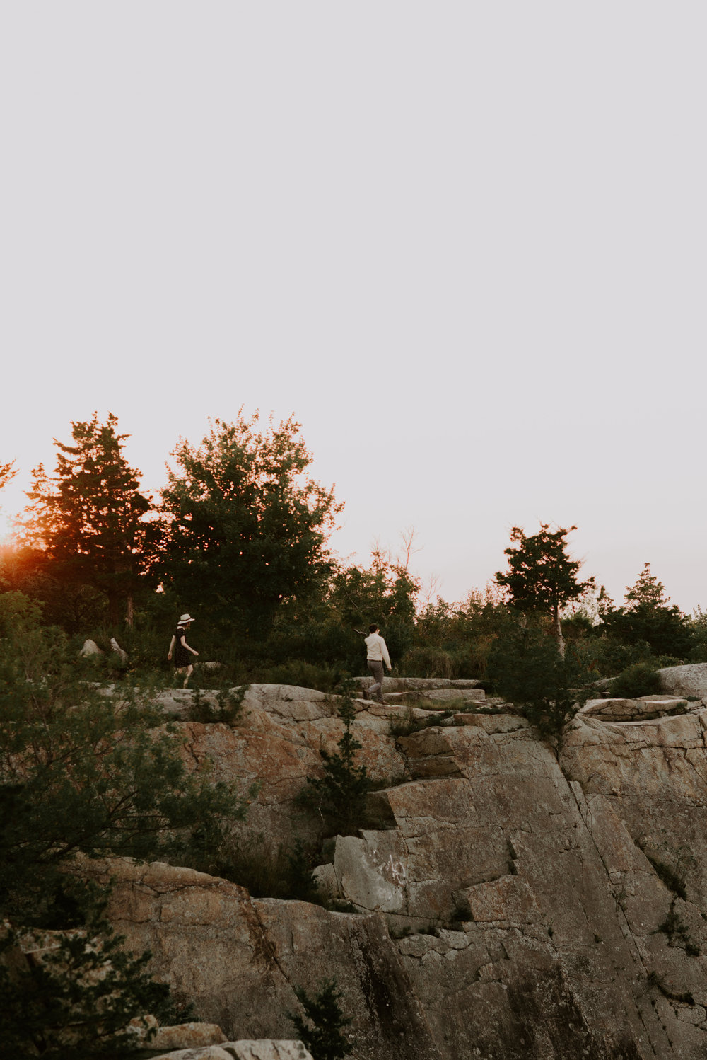 Dramatic and Moody Outdoorsy Engagement Session | Boston Wedding Photographer
