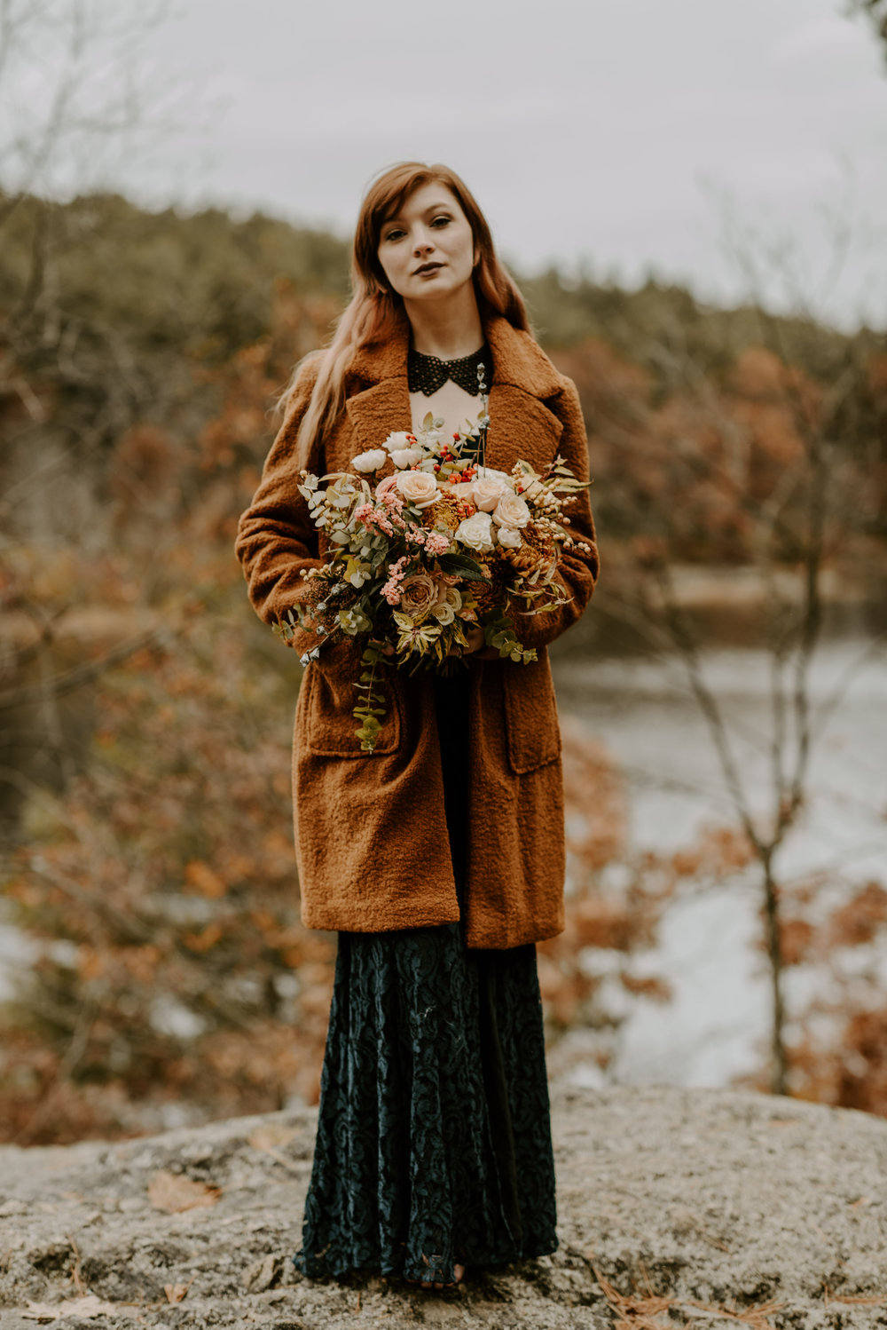 Styled Shoot: Twig and Briar Rustic Fall Wedding Inspiration | Boston Wedding Photographer | Madeline Rose Photography Co.