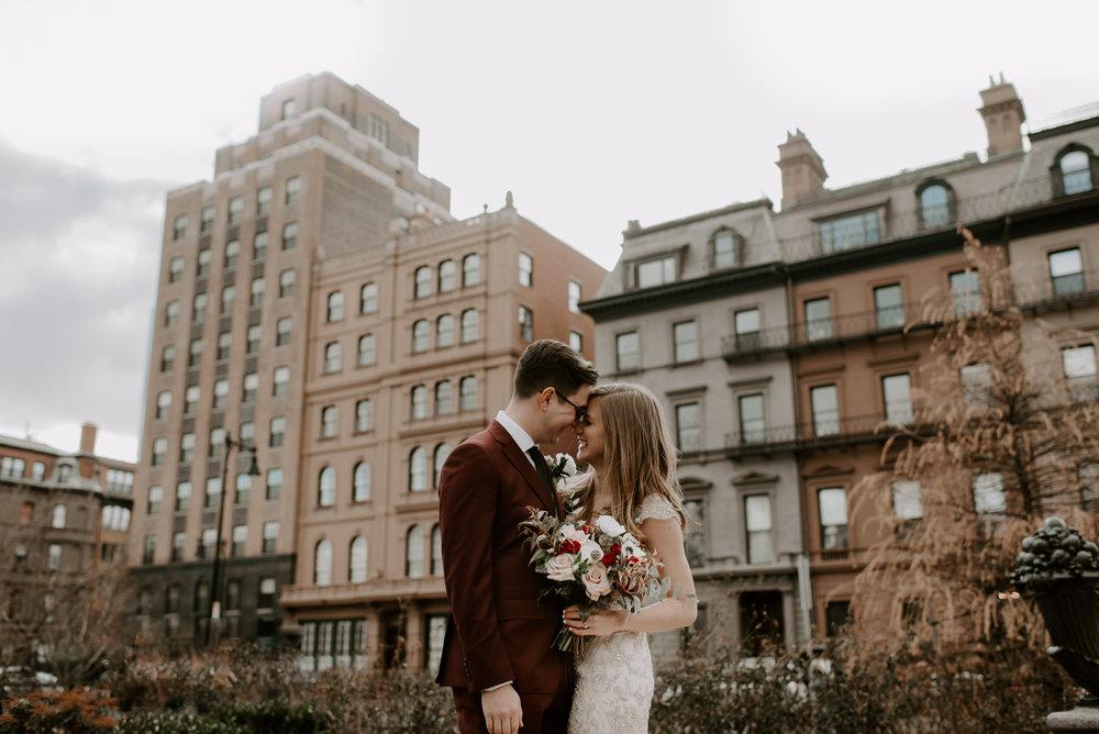 Downtown Boston Wedding Elopement | Boston Wedding Photography