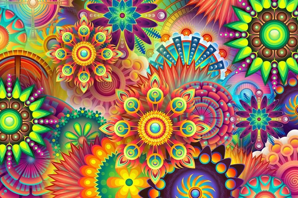 Psychedelic Flowers