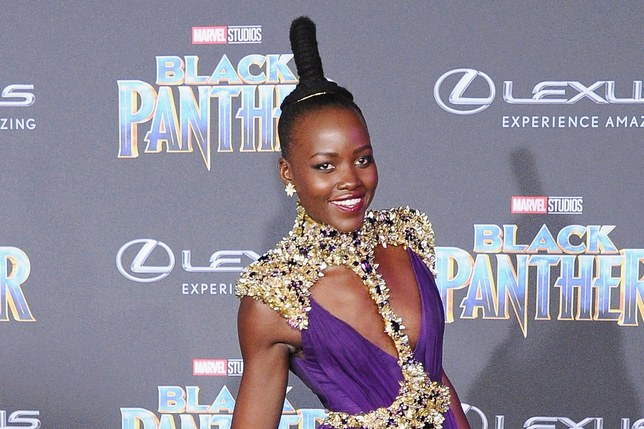 glamour.com   To the surprise of exactly nobody, Lupita Nyong'o, who attended the world premiere of Black Panther at the Dolby Theater in Hollywood on Monday, won the red purple carpet in a dress inspired by her onscreen warrior character.