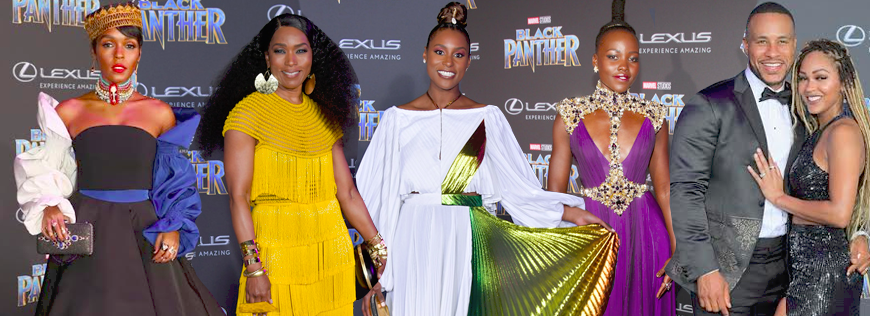 thebomblife.com  From Janelle Monae in Christian Siriano to Lupita Nyong'o in Atelier Versace to the stunning Angela Bassett in Naeem Khan, the carpet overflowed with style and beauty. But where were the black designers?