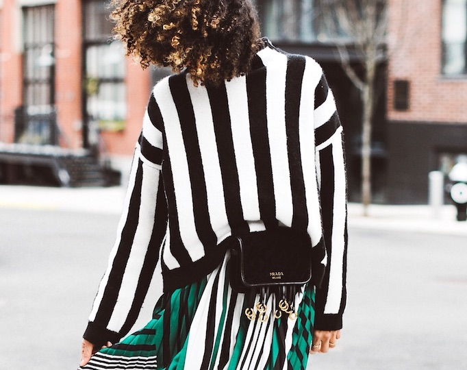 scoutthecity.com  Eclectic mixes are the best kind come this time of year. Learn how to get creative with stripes.