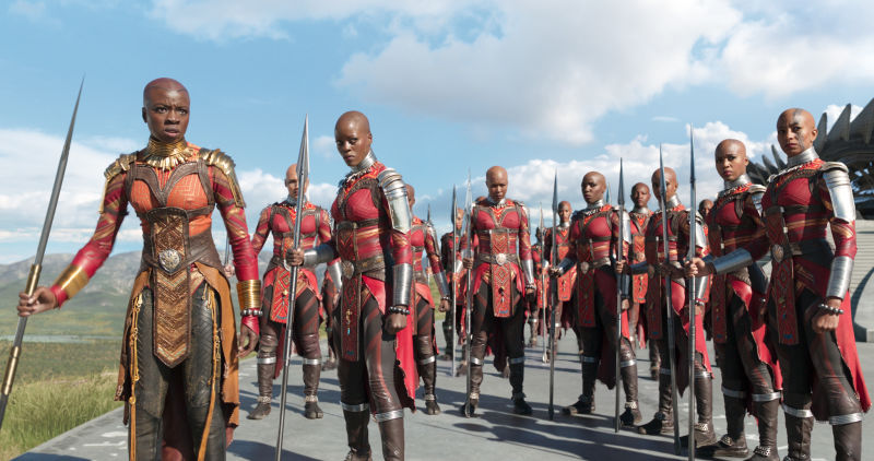 "theroot.com  While Priest may in part cite supermodels as his inspiration, there is a historical prototype for the Dora Milaje in the Dahomey ""Amazons"""