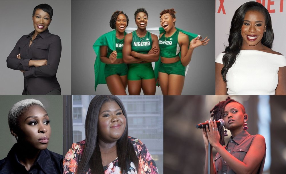 Blavity.com  OkayAfrica's 100 Women list features Joy-Ann Reid, Uzo Aduba, and Nigeria's Women Bobsled Team.