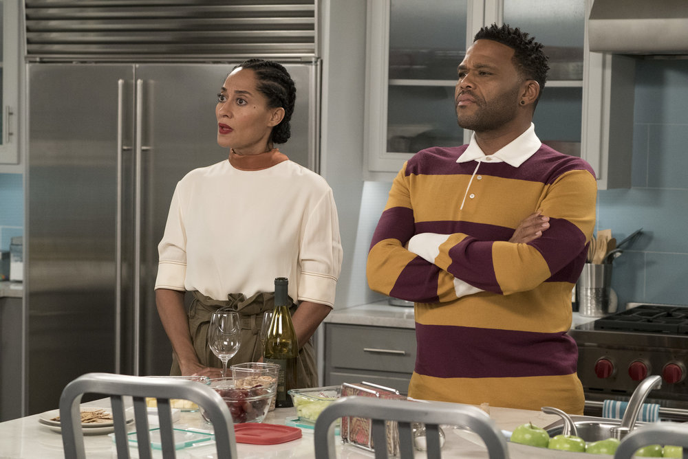 "theshaderoom.com  Looks like ABC wasn't here for a ""Black-ish"" episode about the National Anthem protests. According to reports, the network decided to shelve an episode titled ""Please, Baby Please"" indefinitely due to ""creative differences"" with creator and showrunner Kenya Barris."