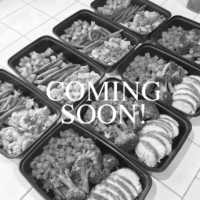 NUTRITION PROGRAM -COMING SOON -